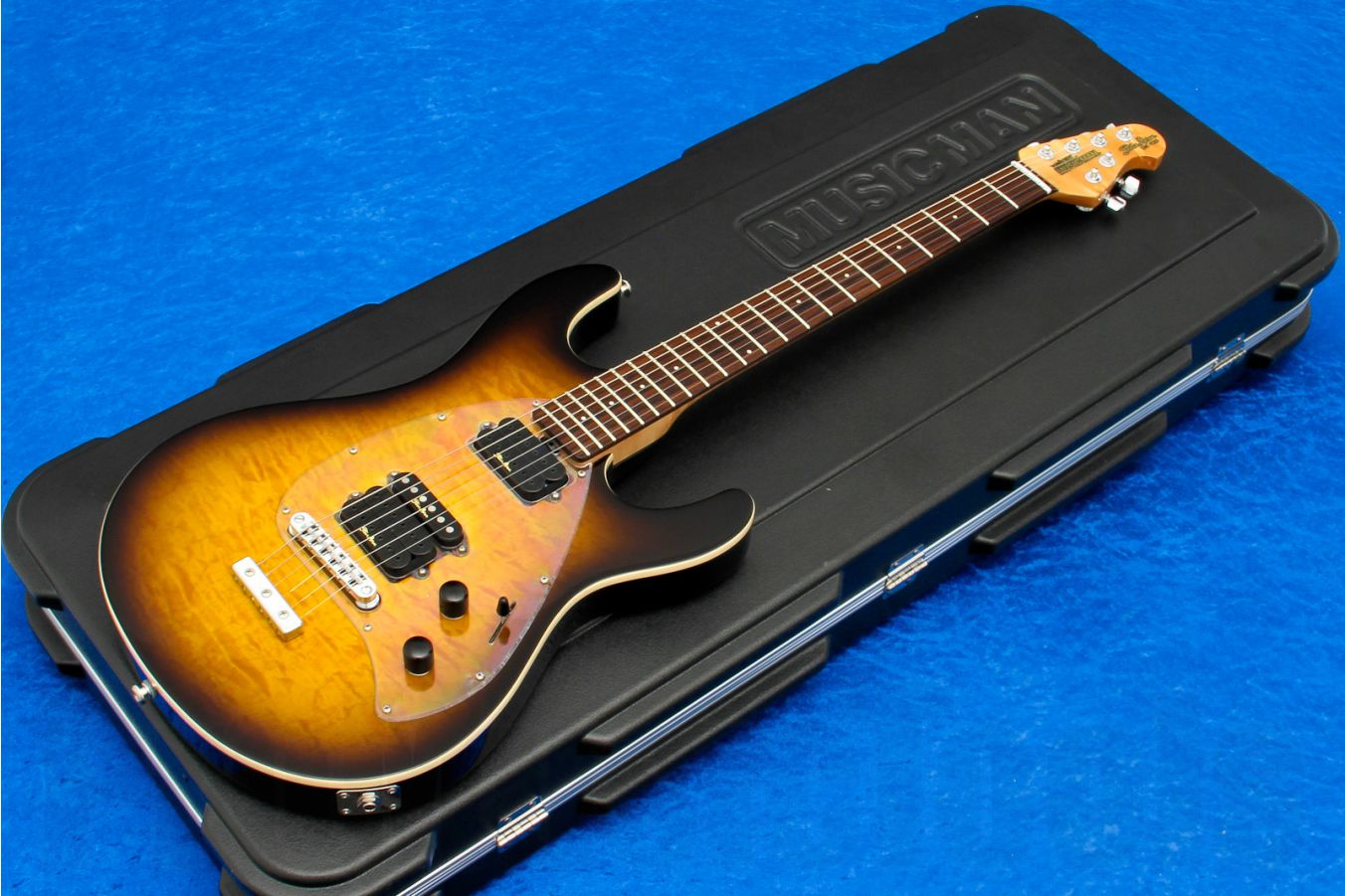 Music Man USA Steve Morse Y2D STD TB - Tobacco Burst QT