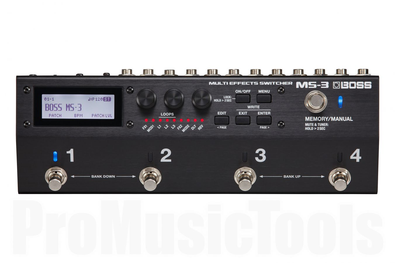 Boss MS-3 Multi Effects Processor & Switcher