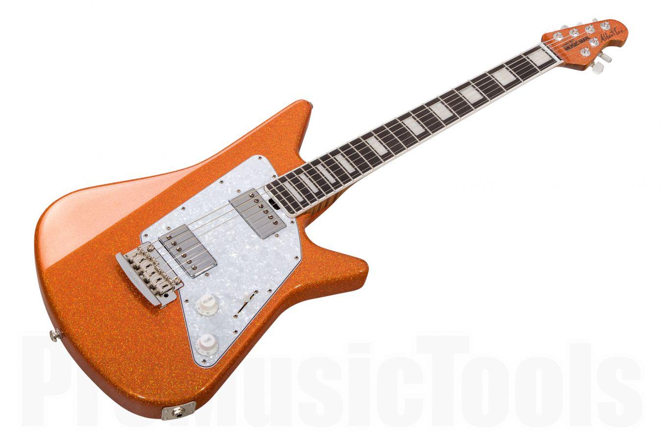 Music Man USA Albert Lee HH BFR - Orange Crush - Limited Edition