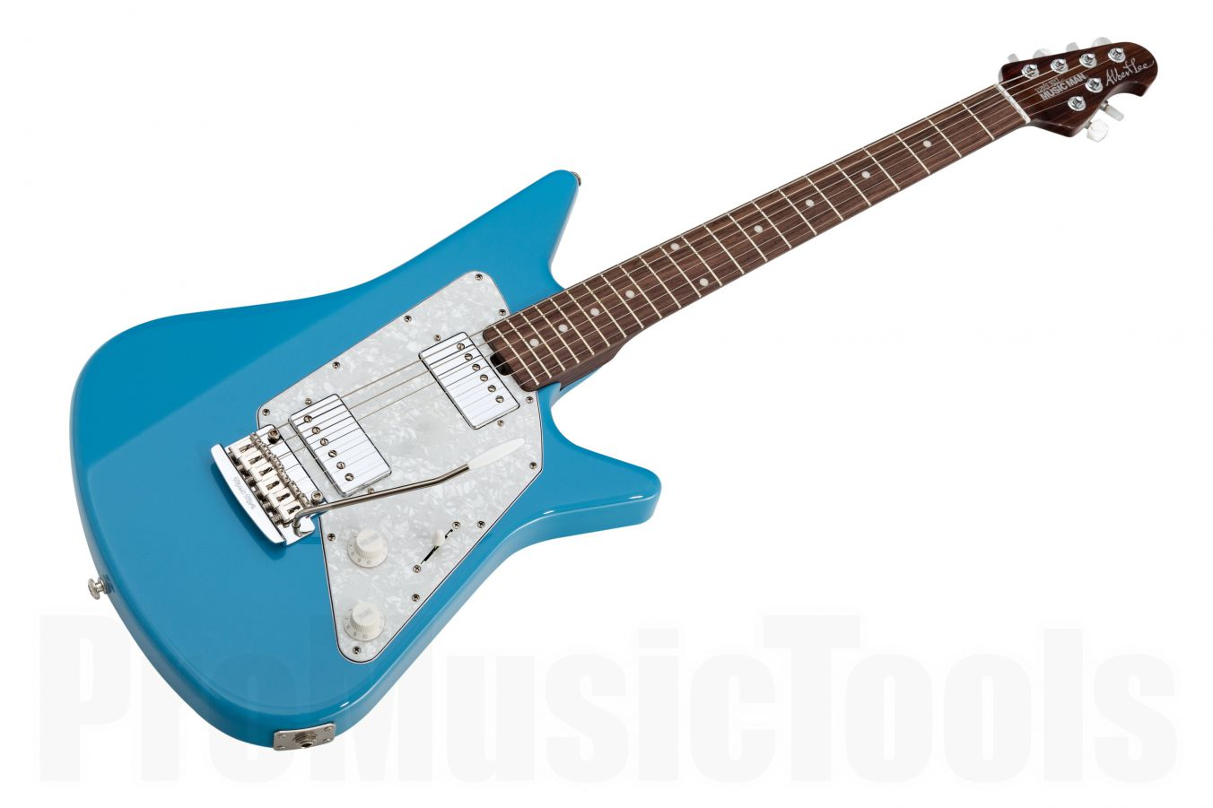 Music Man USA Albert Lee HH Trem DB - Diego Blue - Rosewood Neck