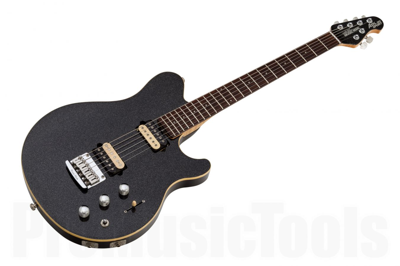 Music Man USA Axis Super Sport STD Piezo BKS - Black Sparkle RW MH