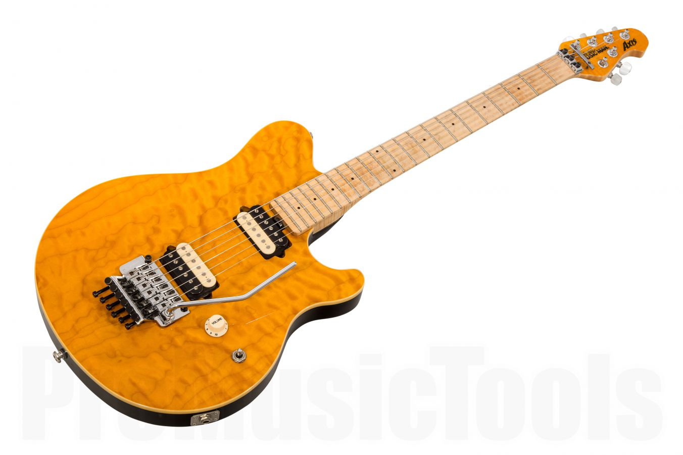 Music Man Usa Axis Tg Translucent Gold Mh Qt Promusictools