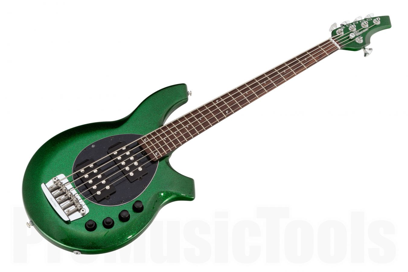 Music Man USA Bongo 5 HH ES - PDN Emerald Green Sparkle Limited Edition