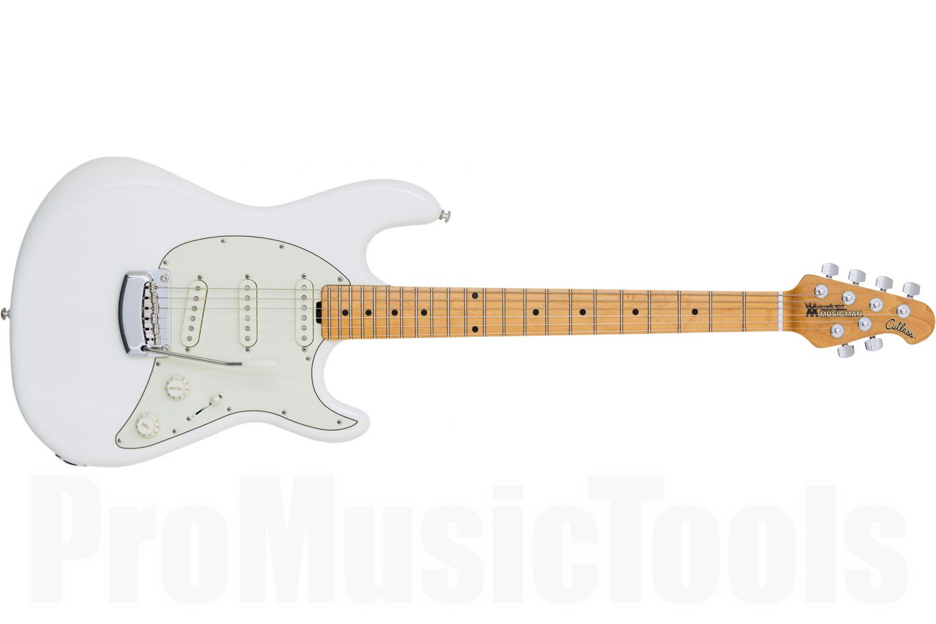 Music Man USA Cutlass Guitar IW - Ivory White MN