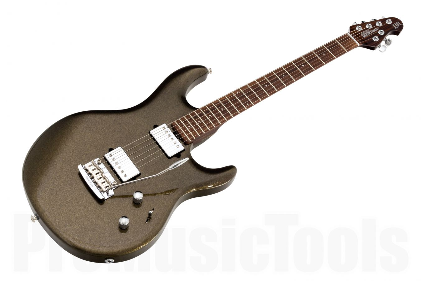 Music Man USA Luke III HH OG - Olive Gold - Rosewood neck
