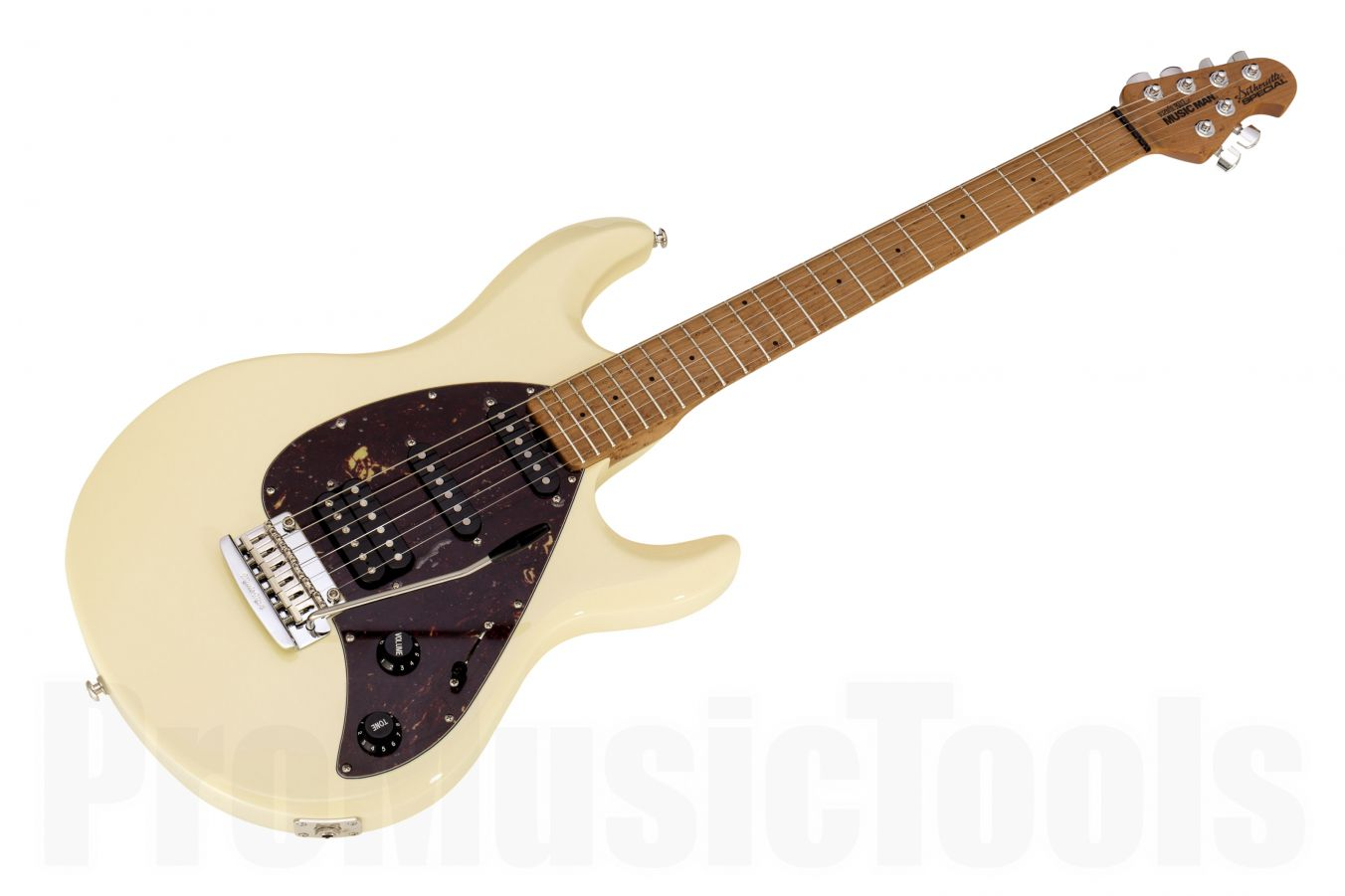 Music Man USA Silhouette Special HSS Trem BC - Buttercream Roasted Neck Limited Edition