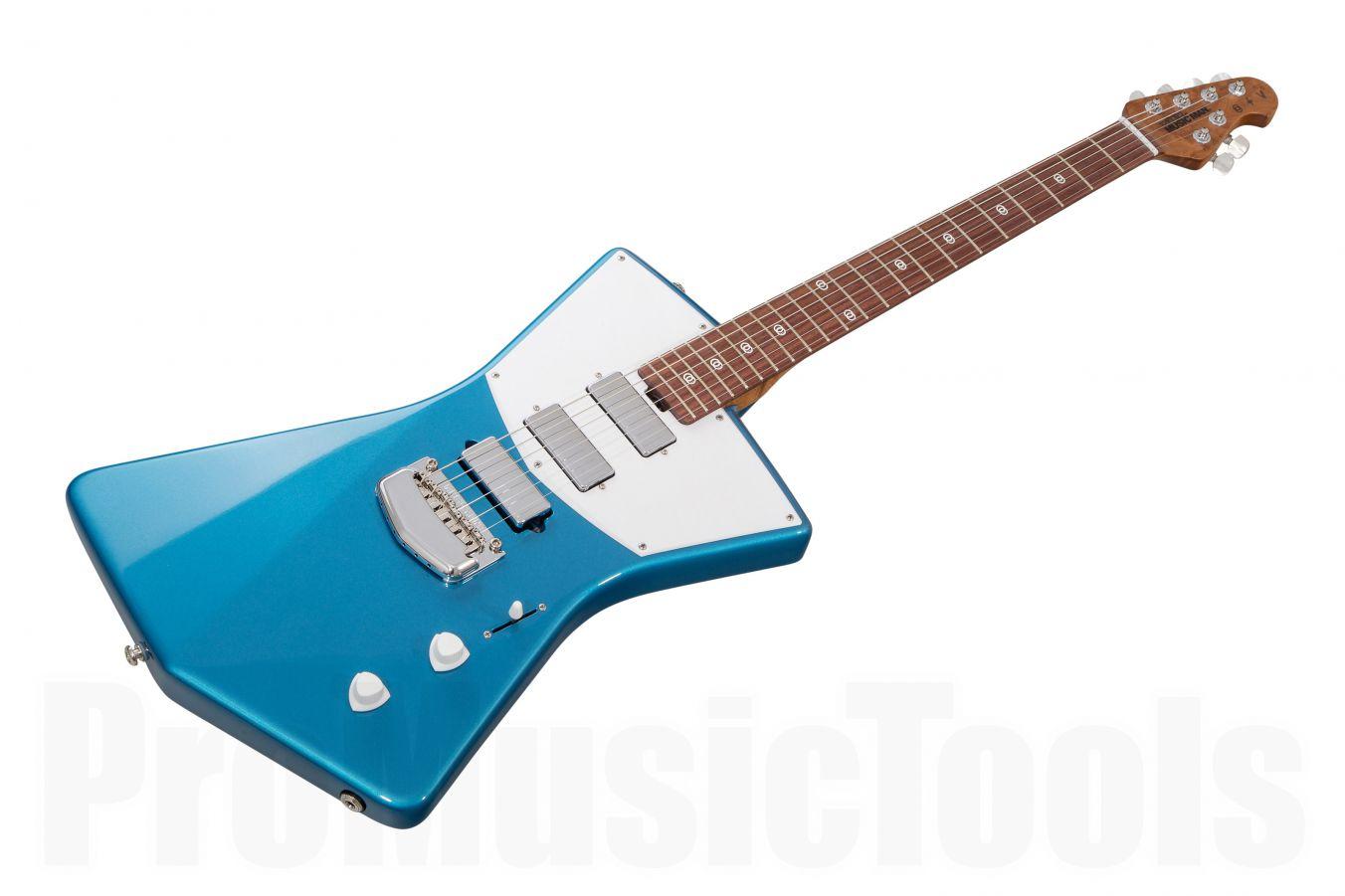 Music Man USA St. Vincent HHH Guitar VB - Vincent Blue