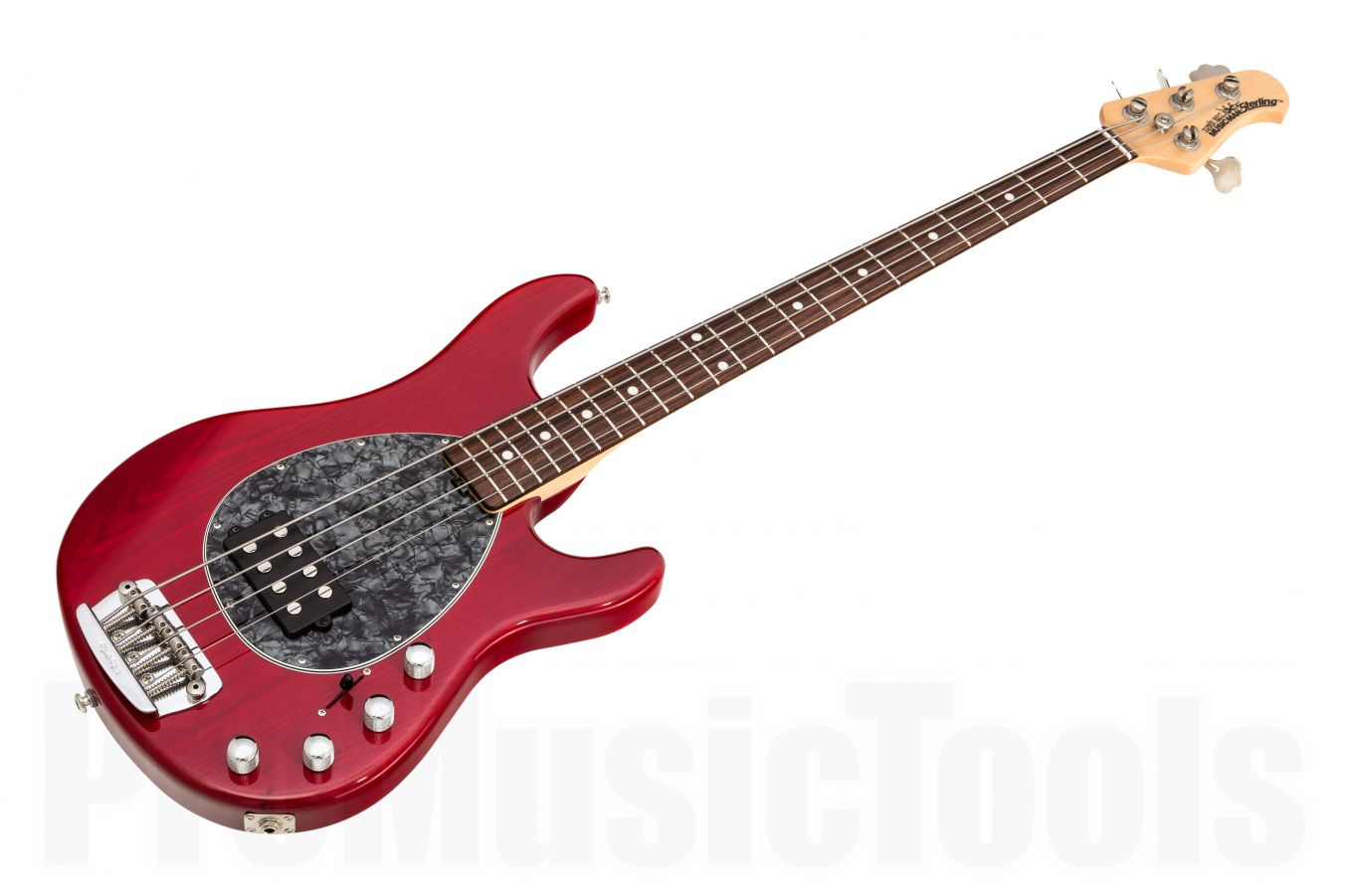 Music Man USA Sterling 4 TR - Translucent Red RW