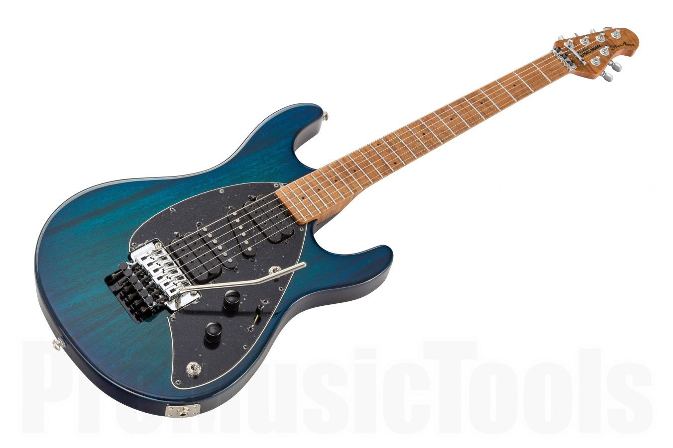 Music Man USA Steve Morse FR NB - PDN Neptune Blue Roasted Neck Limited Edition MN
