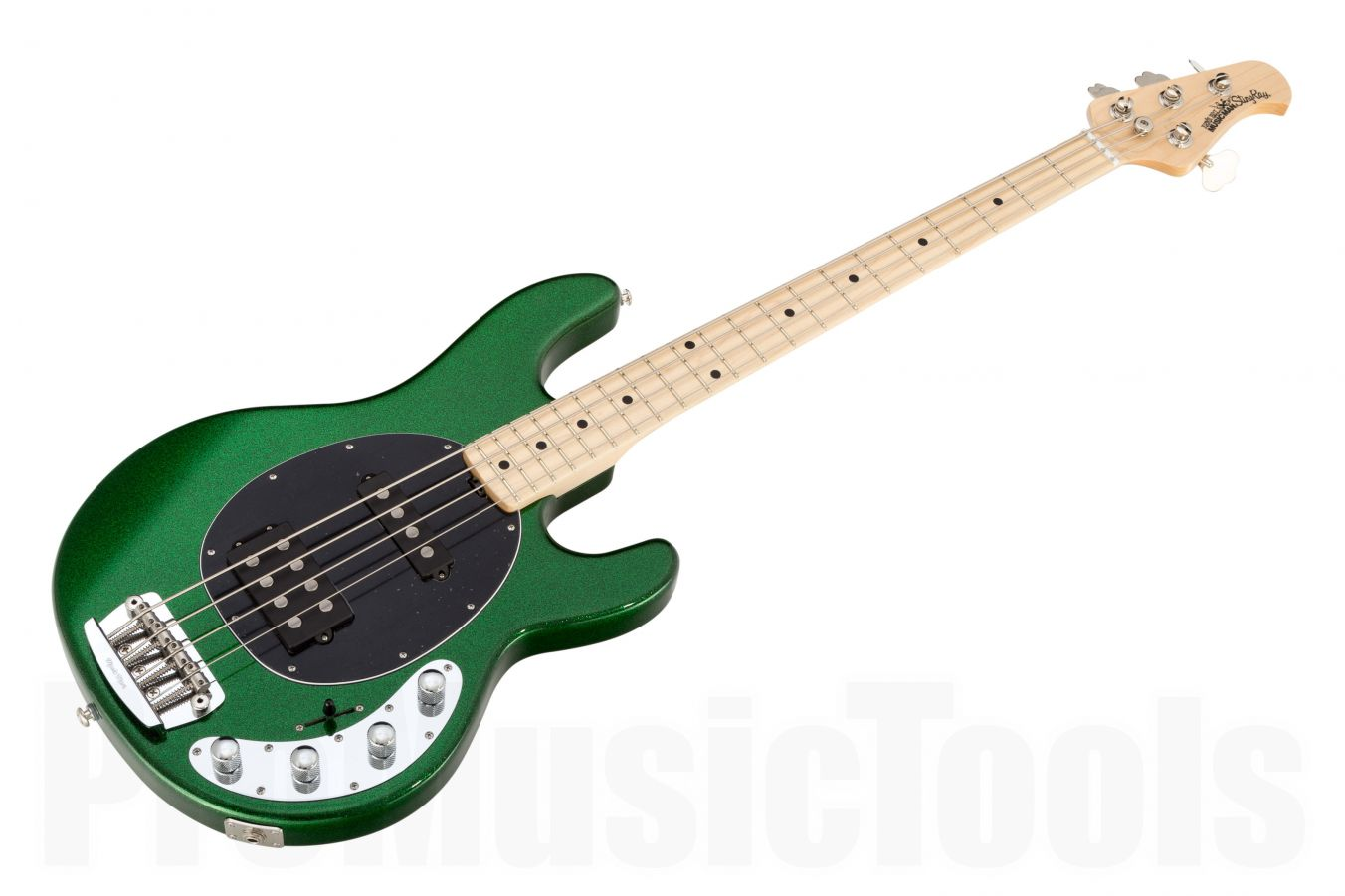 Music Man USA Stingray 4 HS ES - PDN Emerald Green Sparkle Limited Edition MN