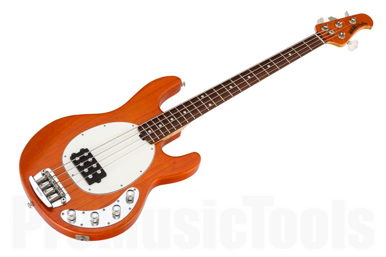 Music Man USA Stingray 4 TO - Translucent Orange RW MH Birdseye