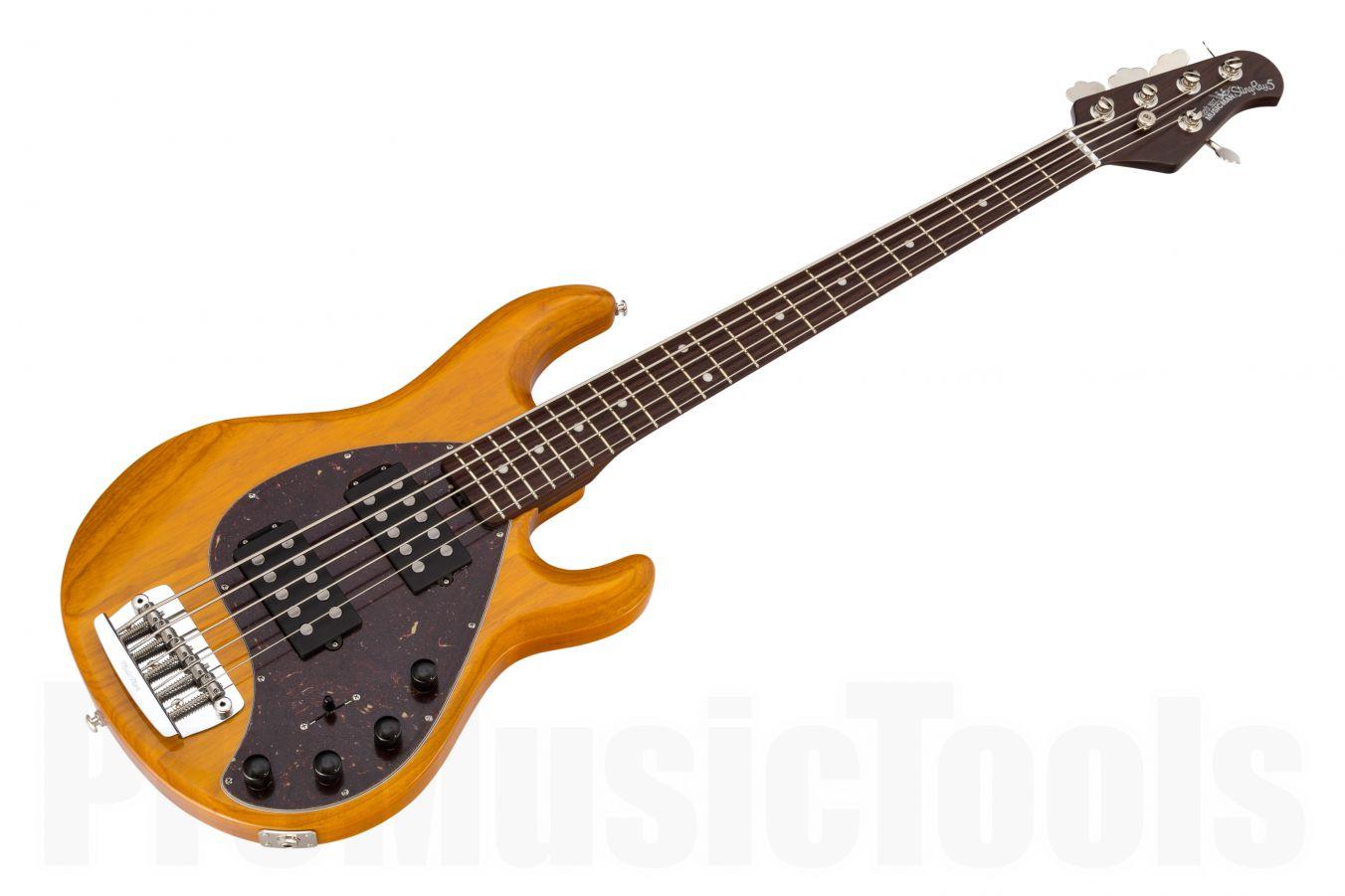 Music Man USA Stingray 5 HH TG - Translucent Gold - Rosewood Neck Limited Edition