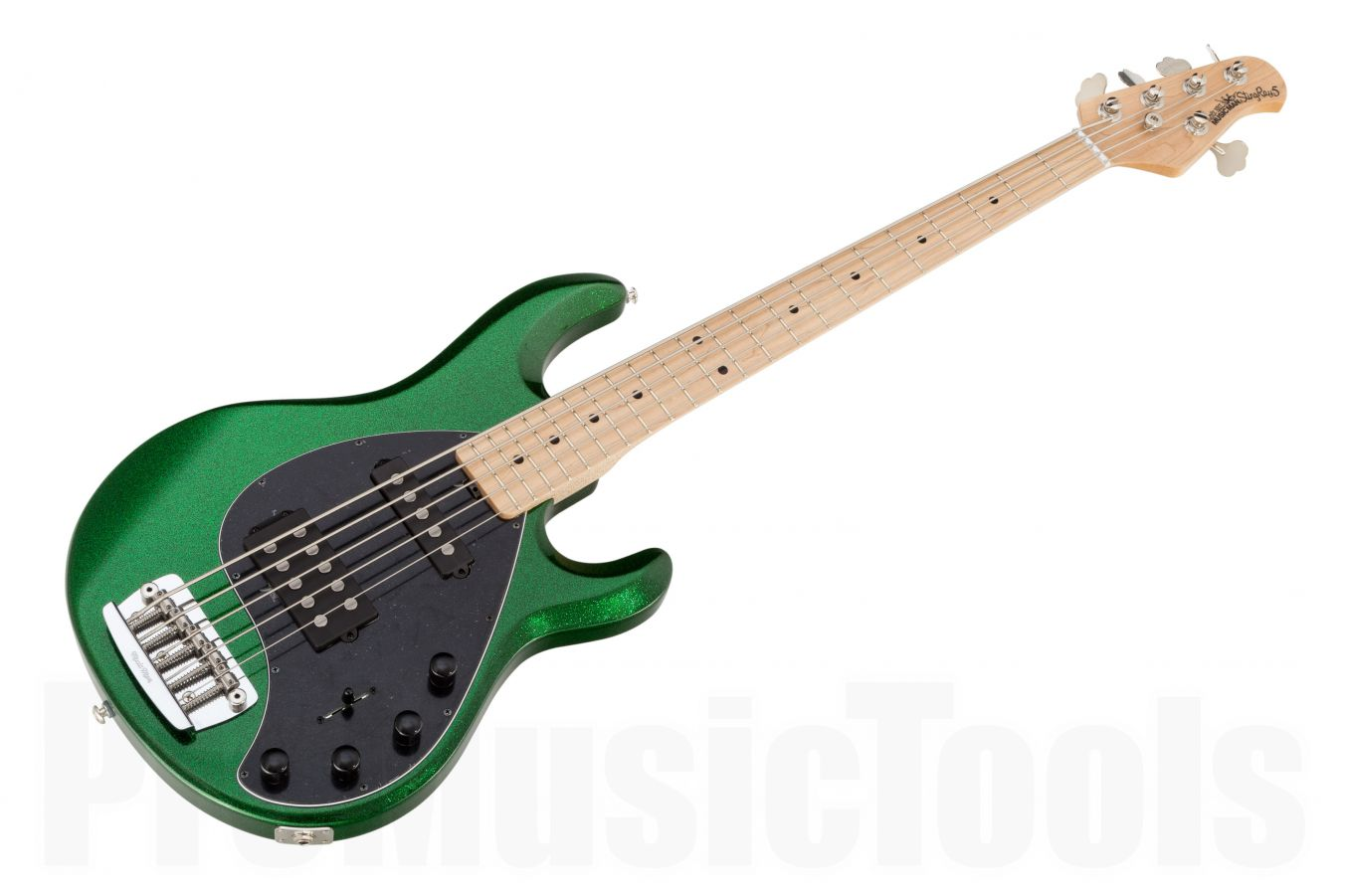 Music Man USA Stingray 5 HS ES - PDN Emerald Green Sparkle Limited Edition MN