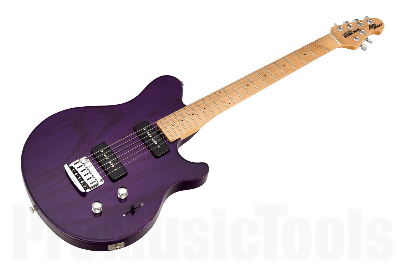 Music Man USA Axis Sport MM90 STD TP - Translucent Purple MN