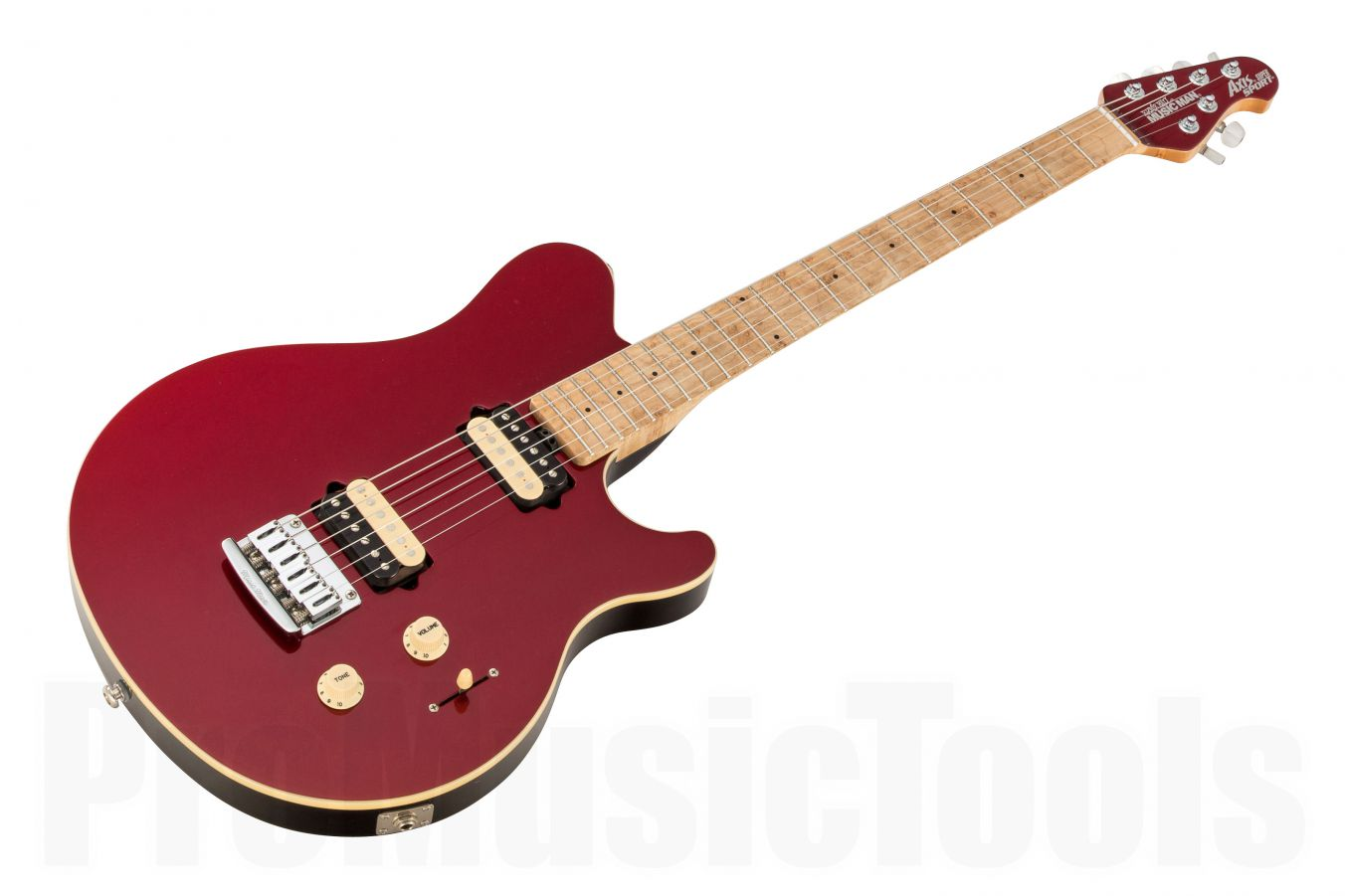 Music Man USA Axis Super Sport STD CR - Candy Red MN MH
