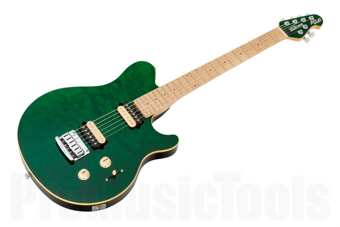 Music Man USA Axis Super Sport STD TGN - Translucent Green MN MH