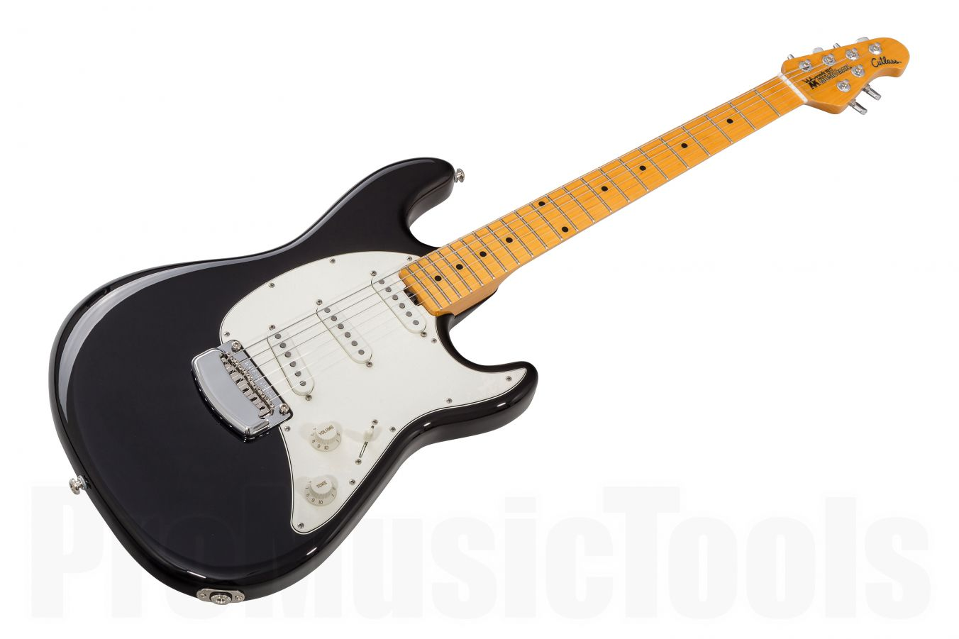 Music Man USA Cutlass Guitar BK - Black MN