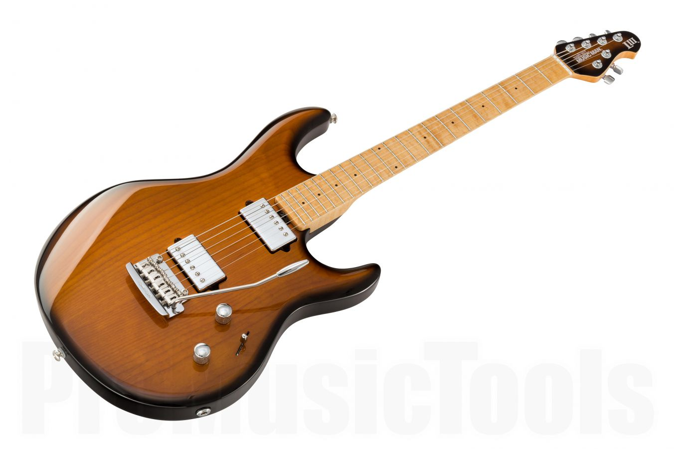 Music Man USA Luke III HH VTB - PDN Vintage Tobacco Burst Limited Edition MN MH