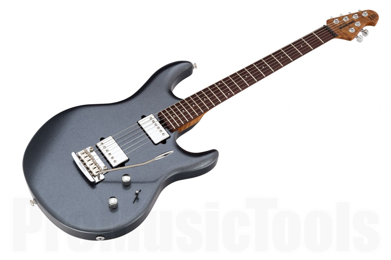 Music Man USA Luke III HH BB - Bodhi Blue - Roasted maple neck