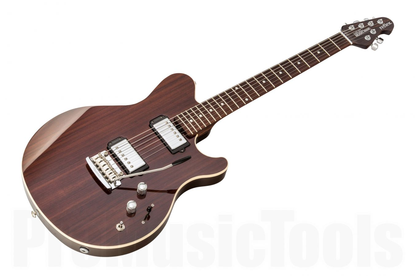 Music Man USA Reflex HH Trem Guitar RW - Rosewood Top - Rosewood Neck Limited Edition