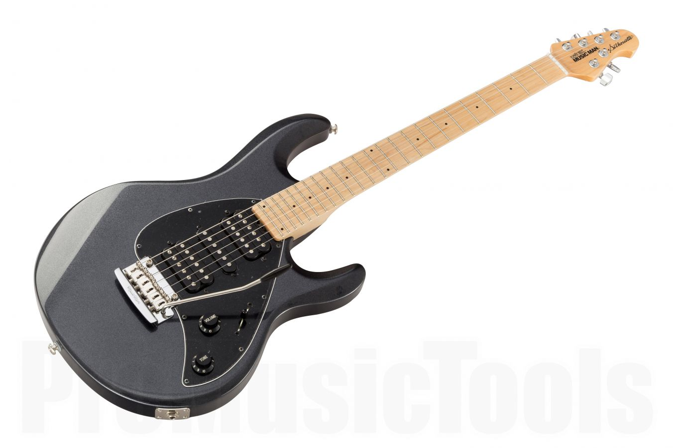 Music Man USA Silhouette HSH Trem SB - Sapphire Black MN