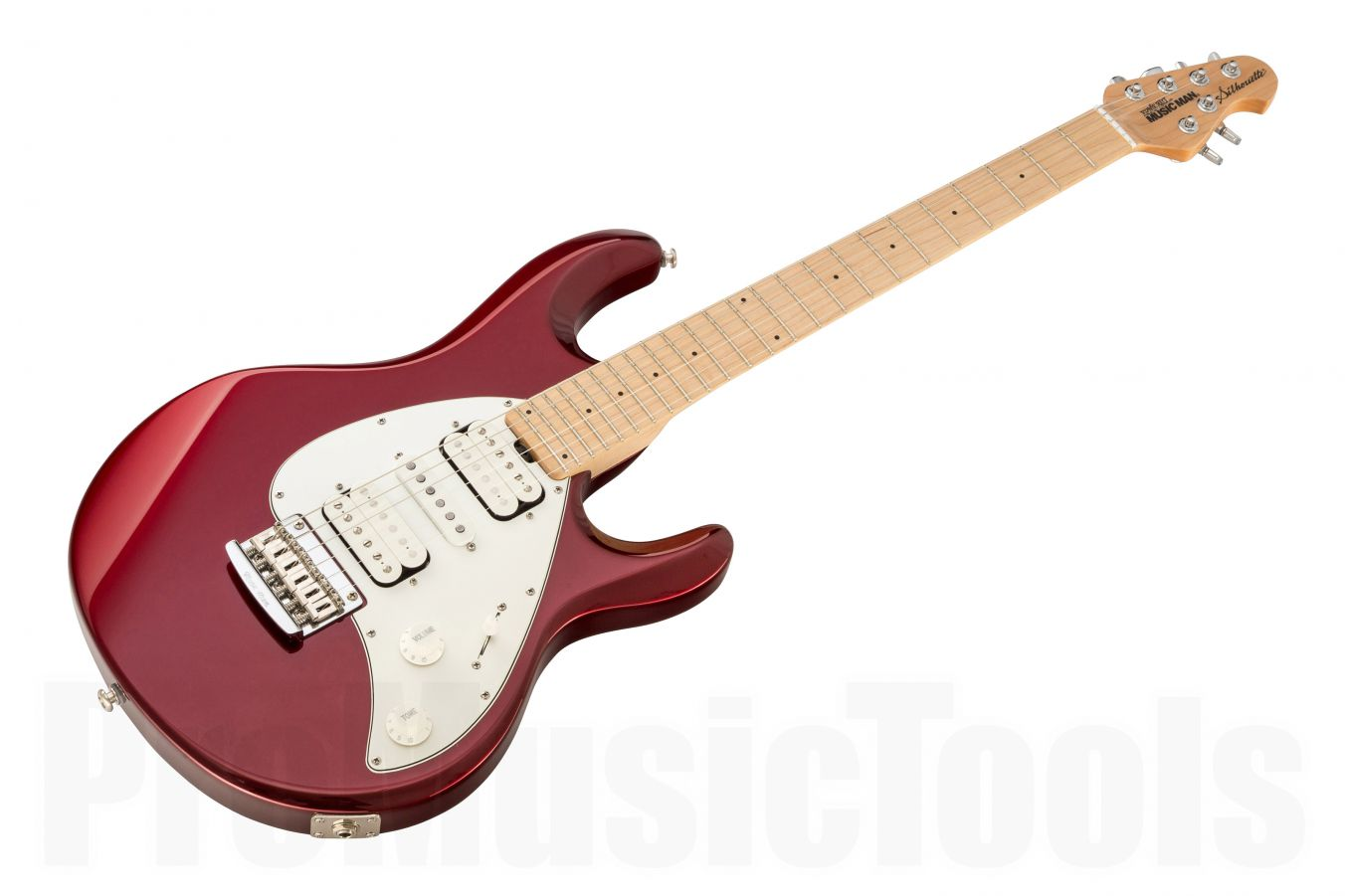 Music Man Usa Silhouette Hsh Std Cr Candy Red Mn Promusictools This Is The Musicman Special Way You Have To Think Of