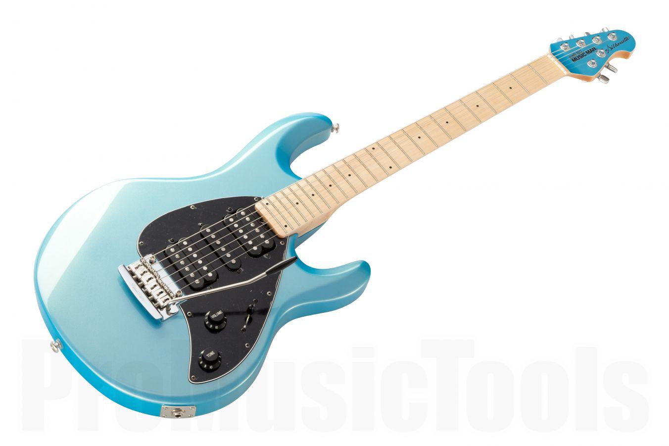 Music Man USA Silhouette HSH Trem SB - Sky Blue MN MH