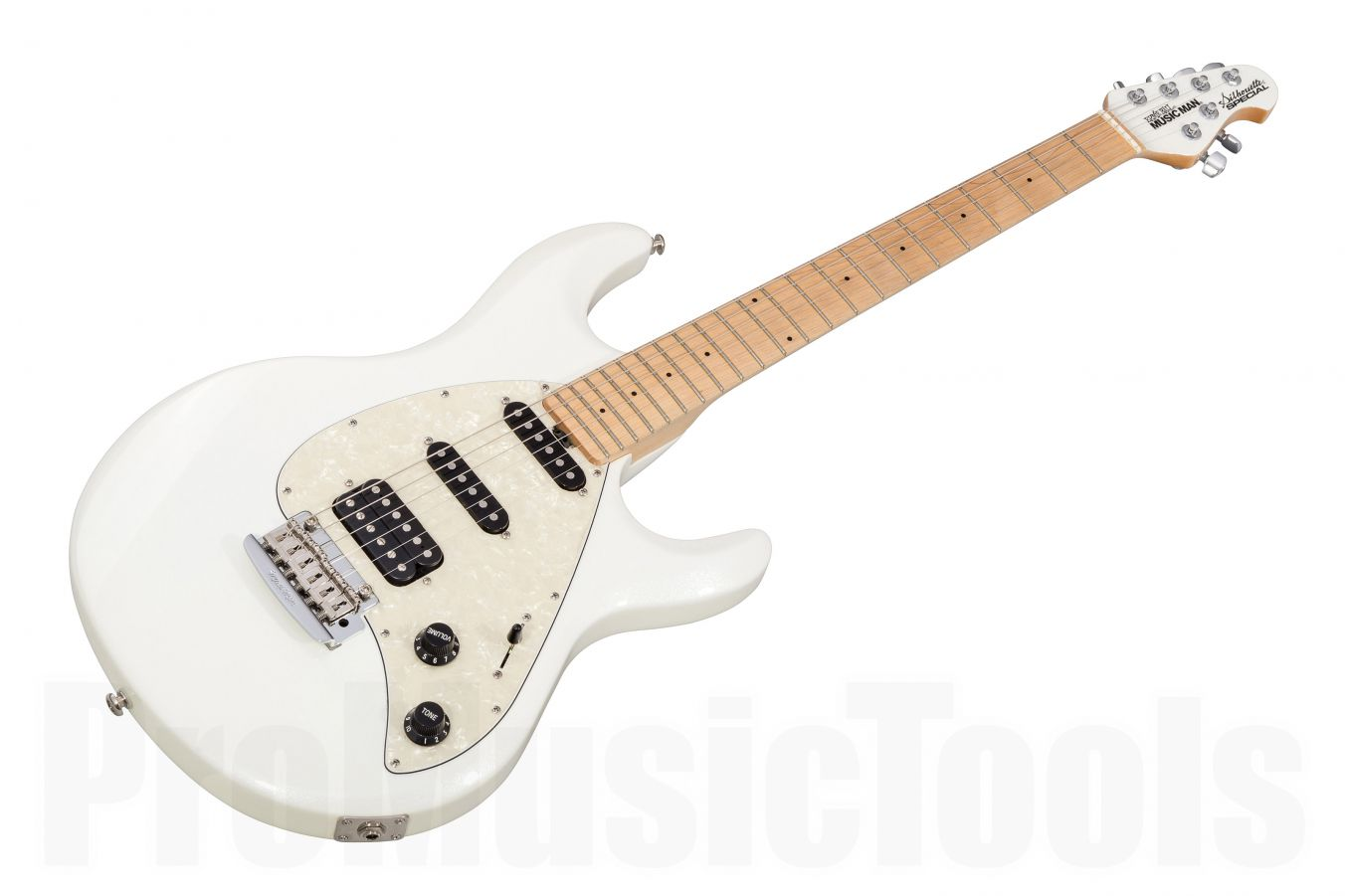 Music Man USA Silhouette Special HSS Trem WP - White Pearl MN MH