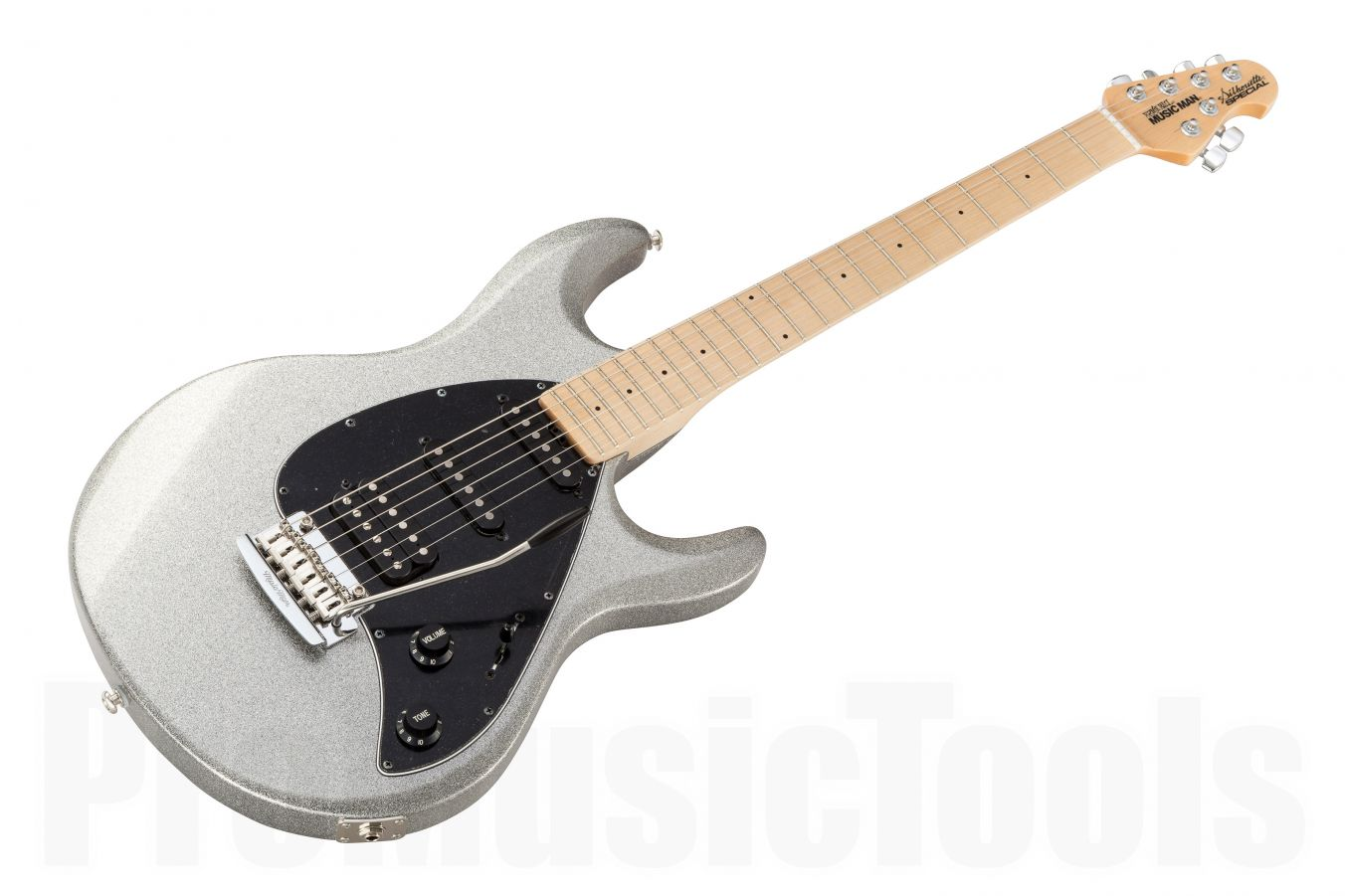 Music Man USA Silhouette Special HSS Trem SSP - Silver Sparkle MN
