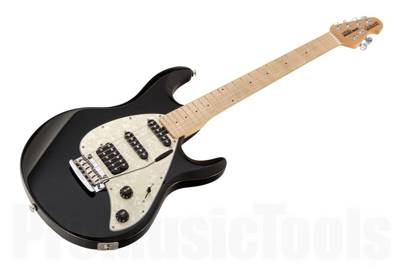 Music Man USA Silhouette Special HSS Trem BK - Black MN