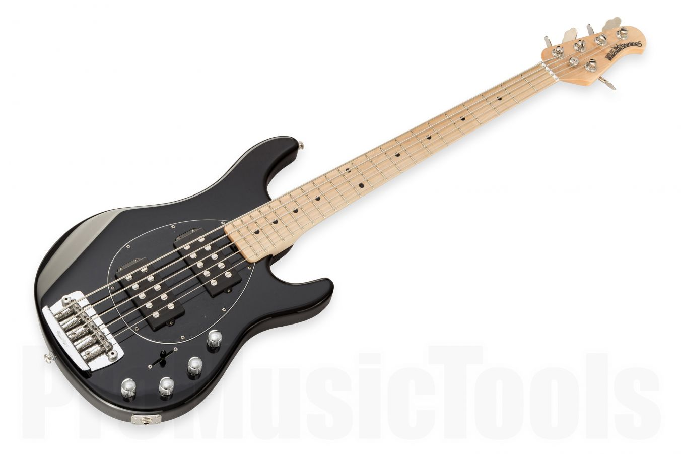 Music Man USA Sterling 5 HH BK - Black MN