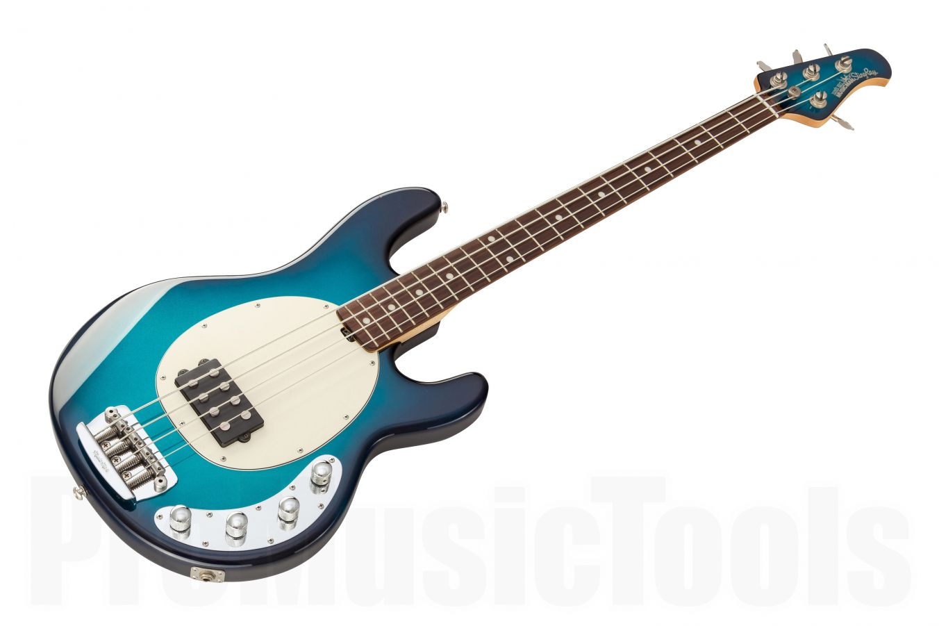 Music Man USA Stingray 4 BD - Blue Dawn RW MH