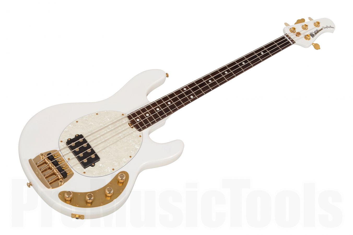 Music Man USA Classic Stingray 4 GW - Gilded White PDN Limited Edition