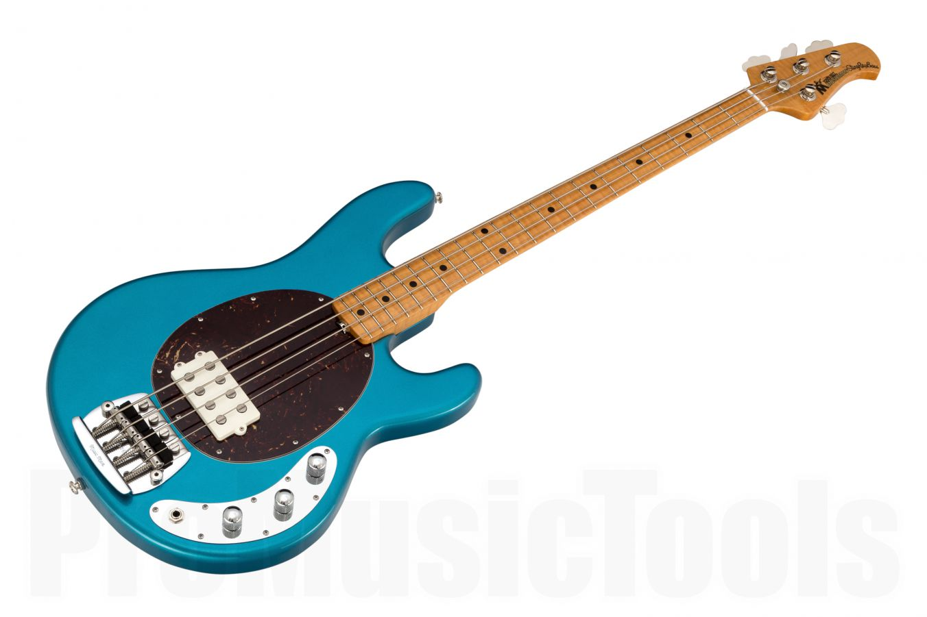 Music Man USA Classic Stingray 4 LTB - Lake Tahoe Blue MN Flame