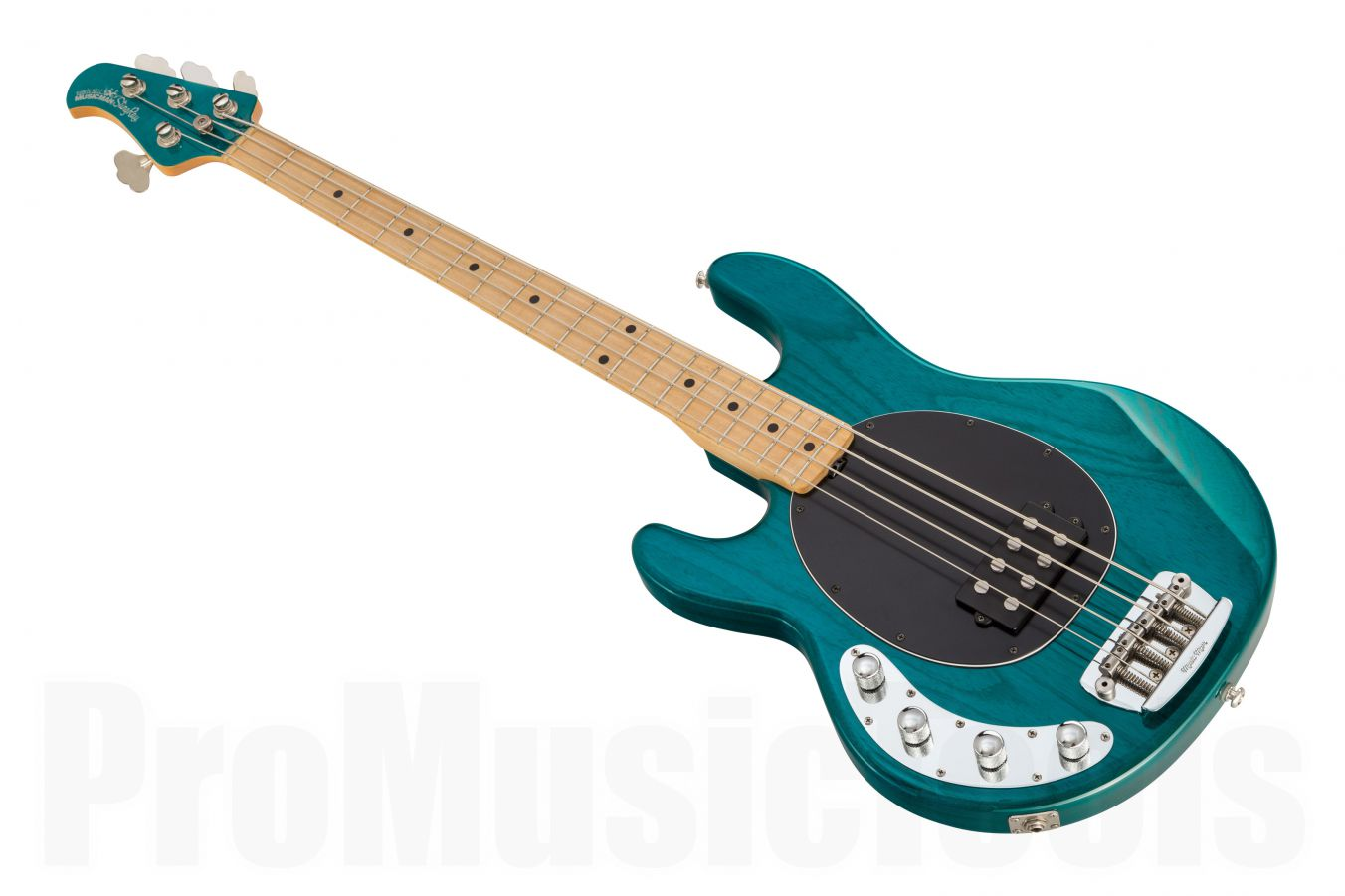 Music Man USA Stingray 4 Lefthand TT - Translucent Teal MN MH