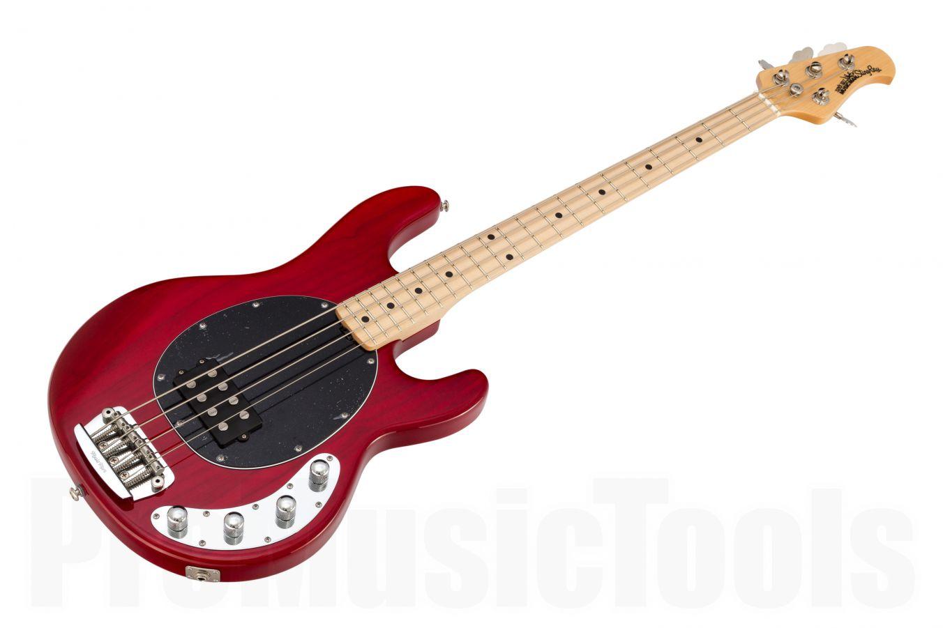 Music Man USA Stingray 4 TR - Translucent Red MN