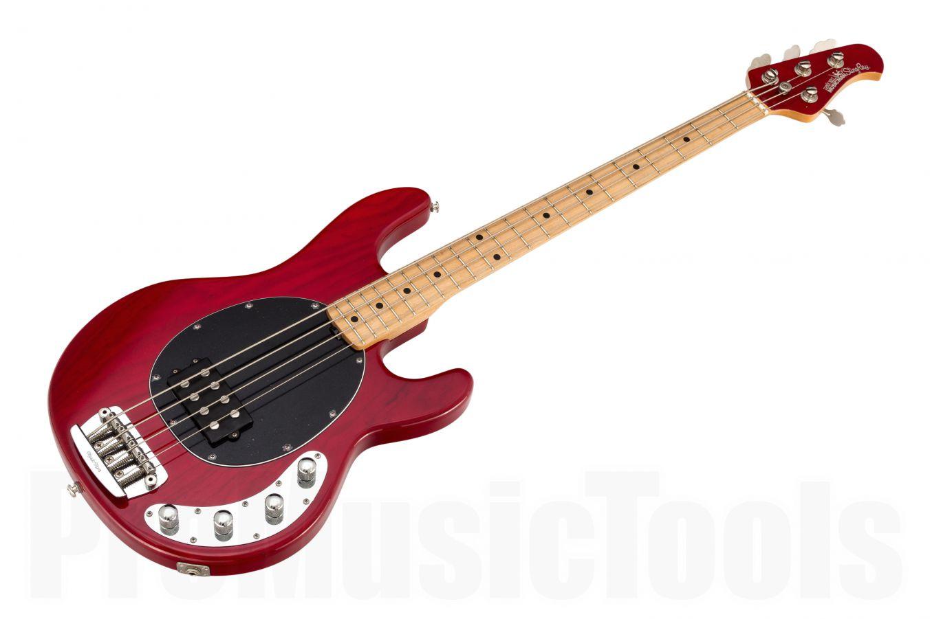 Music Man USA Stingray 4 TR - Translucent Red MN MH BKPG