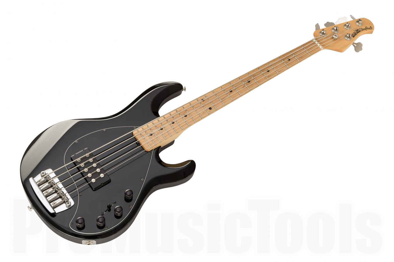 Music Man USA Stingray 5 BK - Black MN - 1-pc body