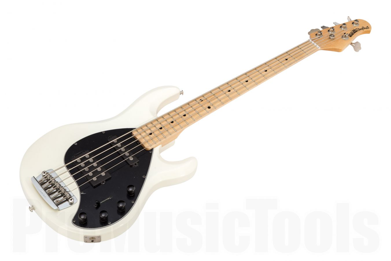 Music Man USA Stingray 5 HS WH - White MN