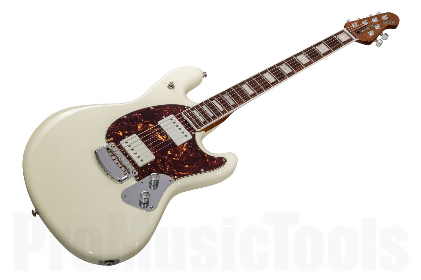 Music Man USA Stingray Guitar BFR White Smoke - Limited Edition