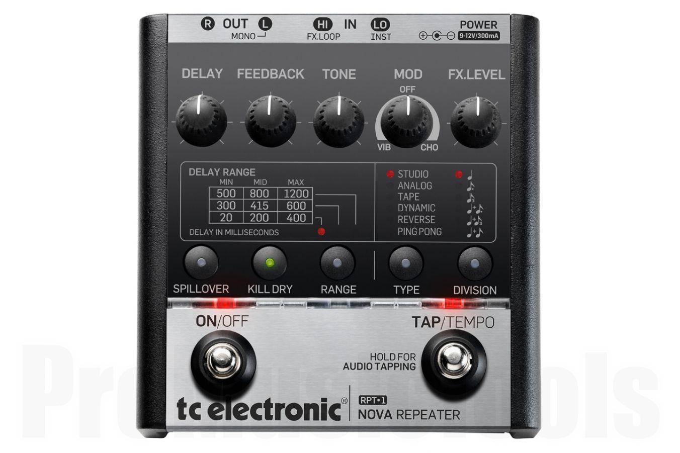 TC Electronic RPT-1 Nova Repeater - b-stock (1x opened box)