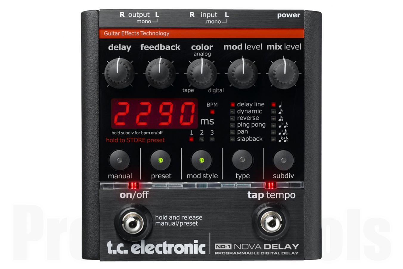 TC Electronic ND-1 Nova Delay - demo