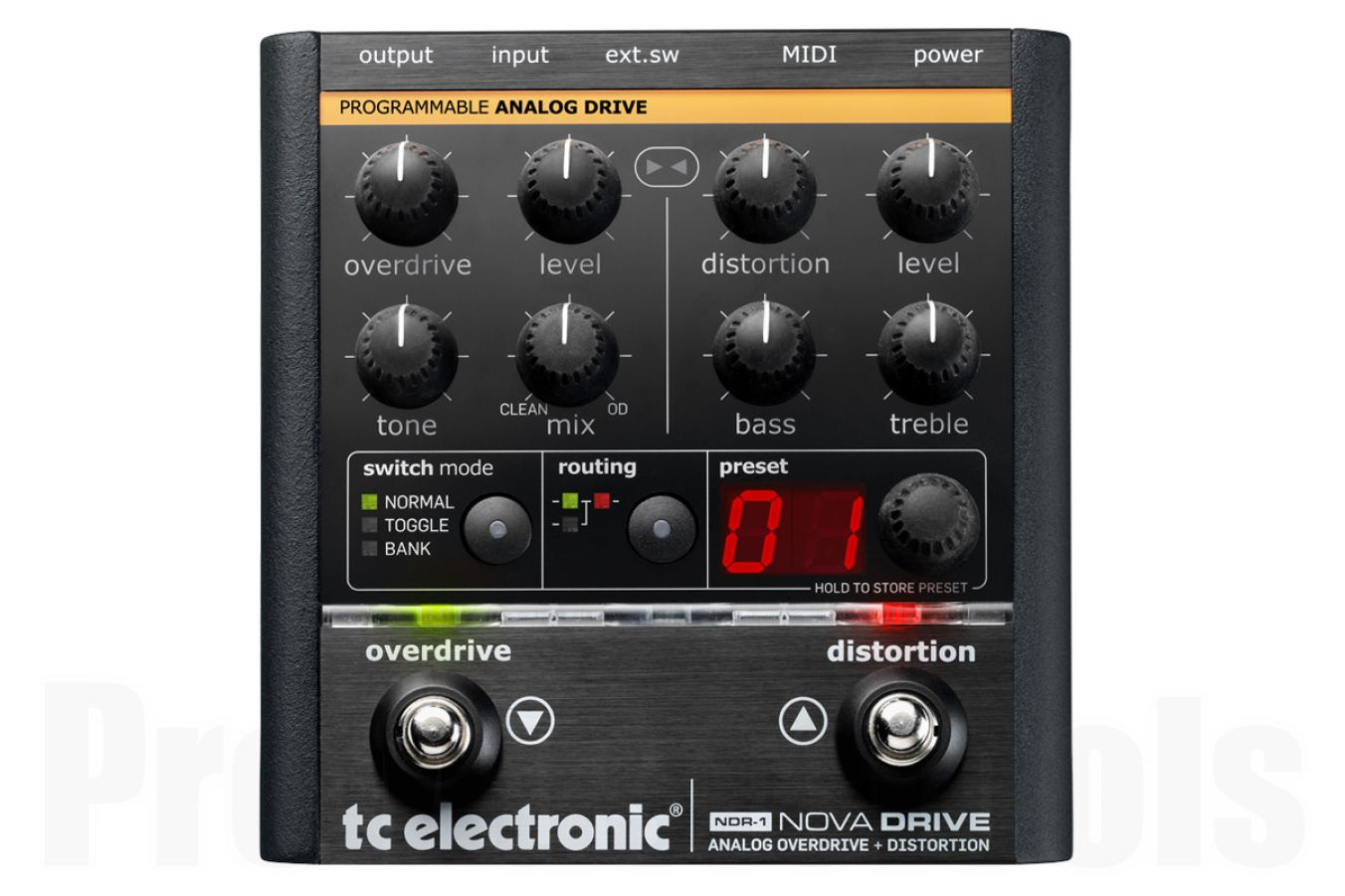TC Electronic NDR-1 Nova Drive - demo