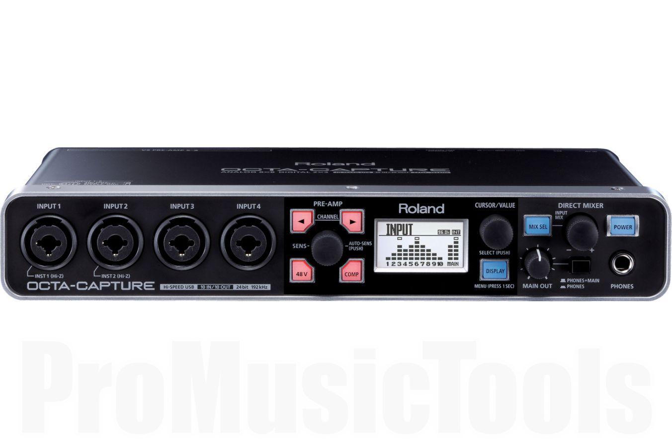 Roland UA-1010 Octa-Capture - 10x10 USB Audio Interface