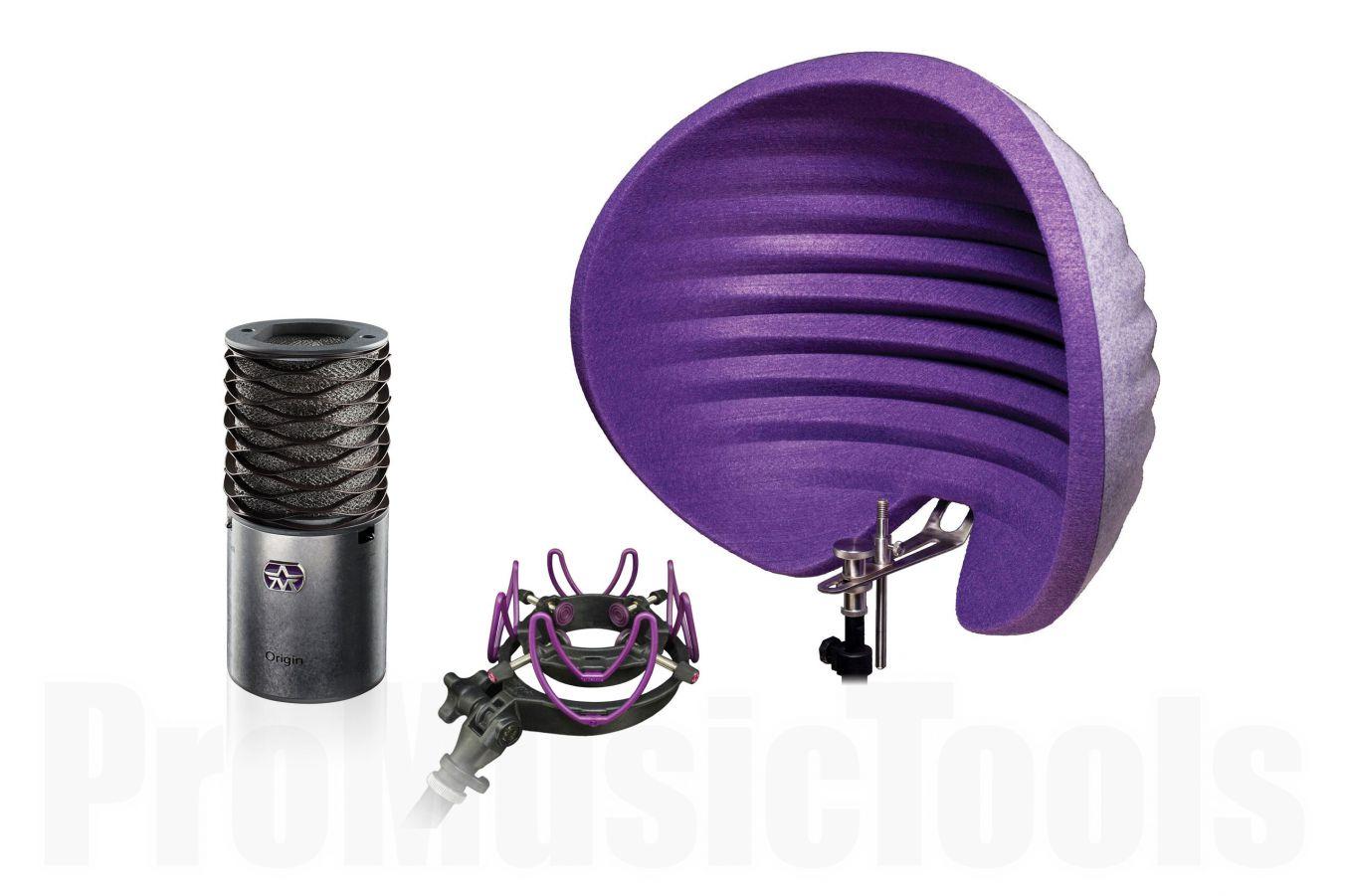 Aston Microphones Origin, Halo Reflection Filter & USM Shock Mount - Bundle offer