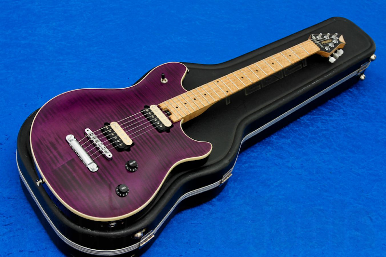 Peavey Wolfgang USA Standard Deluxe NT - Trans Purple