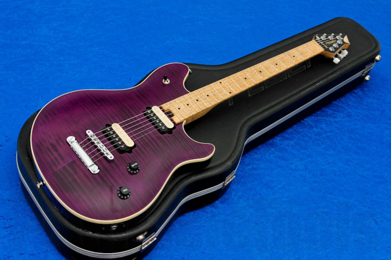 Peavey Wolfgang USA Standard Deluxe NT - Trans Purple