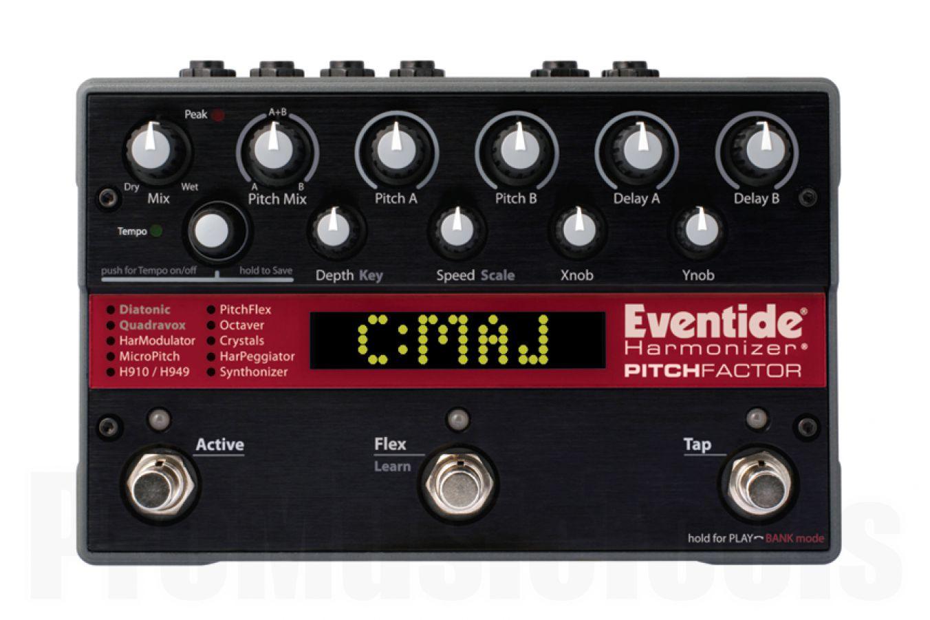 Eventide PitchFactor Harmonizer - demo