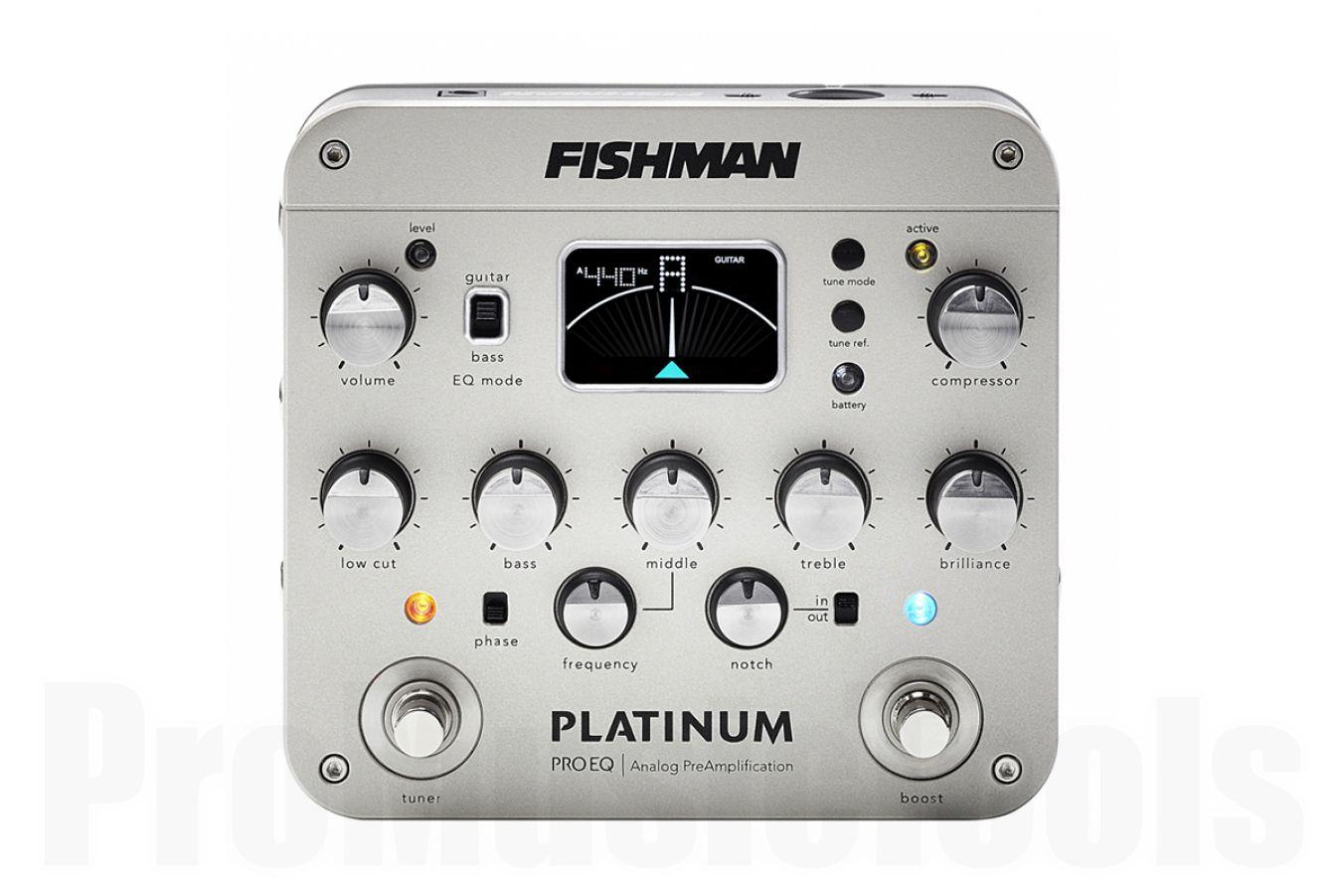 Fishman Platinum Pro EQ Preamp - b-stock (1x opened box)