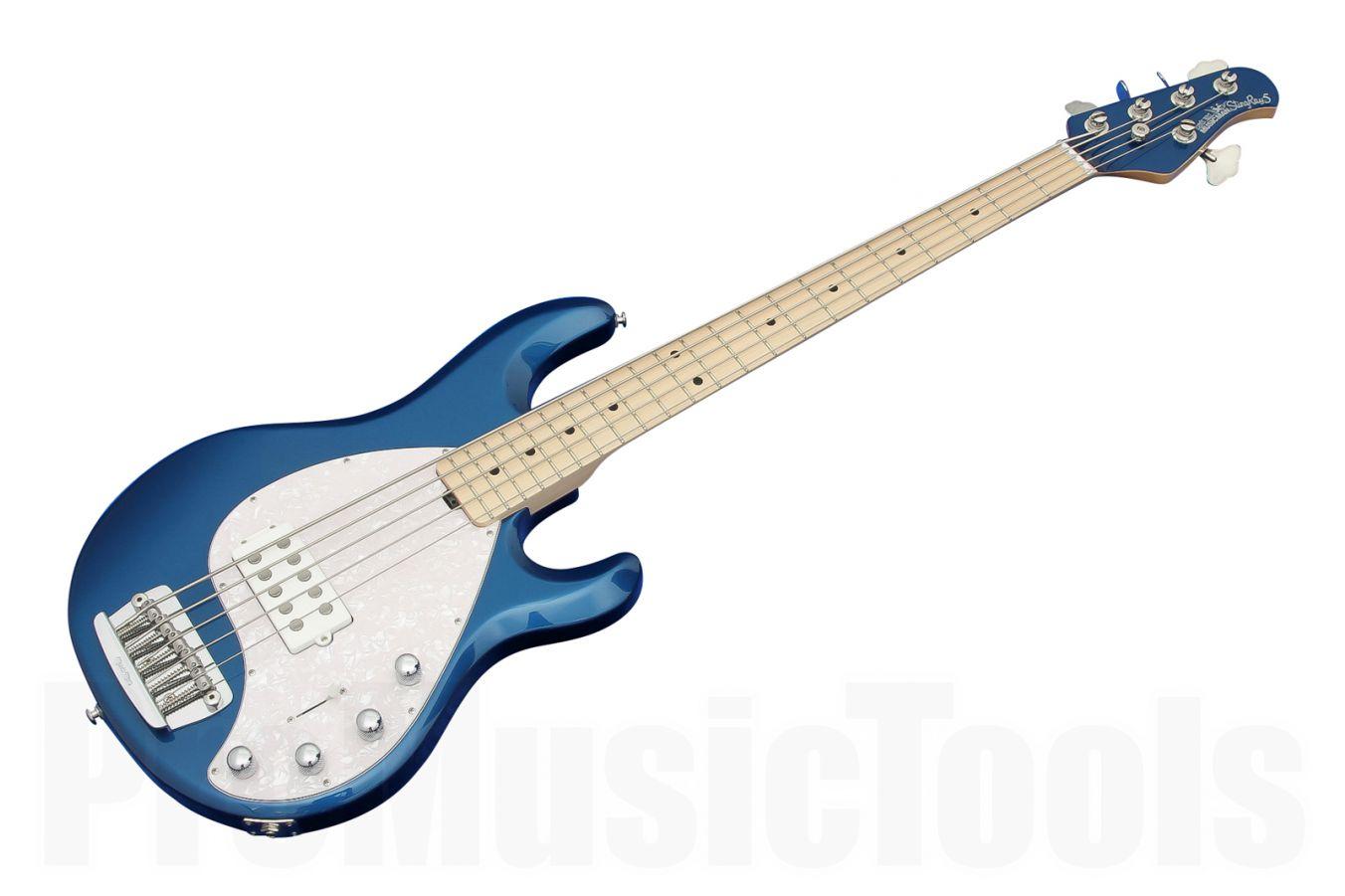 Music Man USA Stingray 5 BP - Blue Pearl MN MH